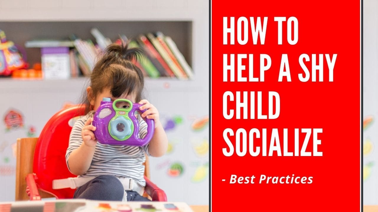 how to help a shy child socialize