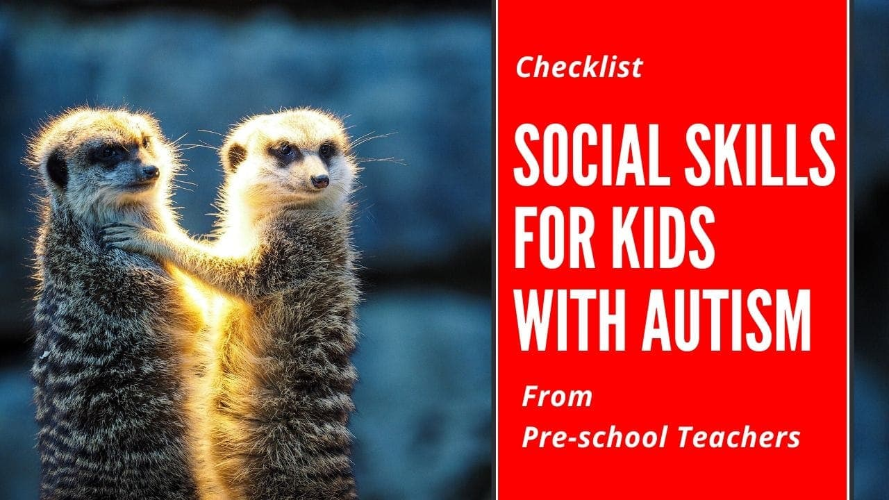 Social SKills for kids with autism