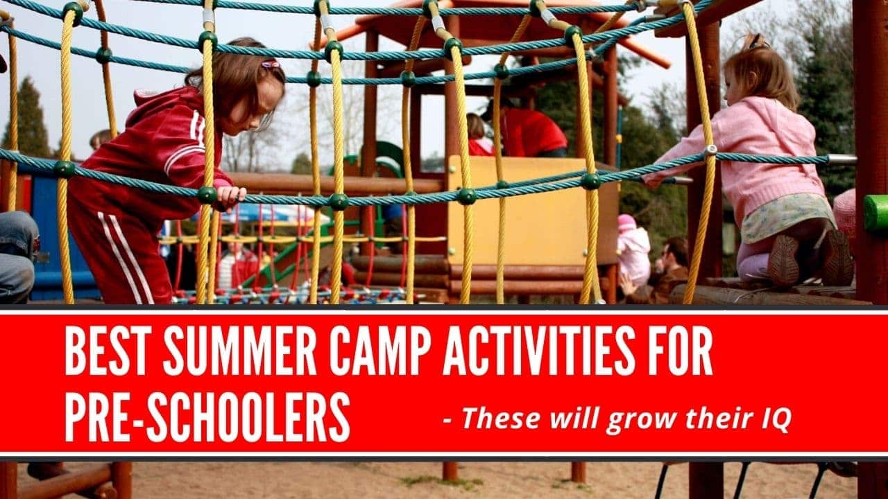 summer camp activities for preschoolers